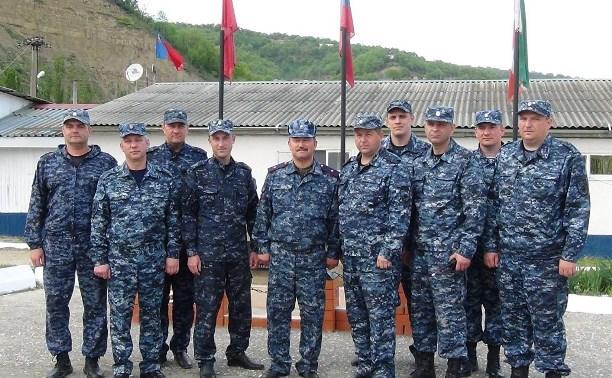 Глава регионального УМВД проверил работу тульских полицейских в командировке на Северном Кавказе