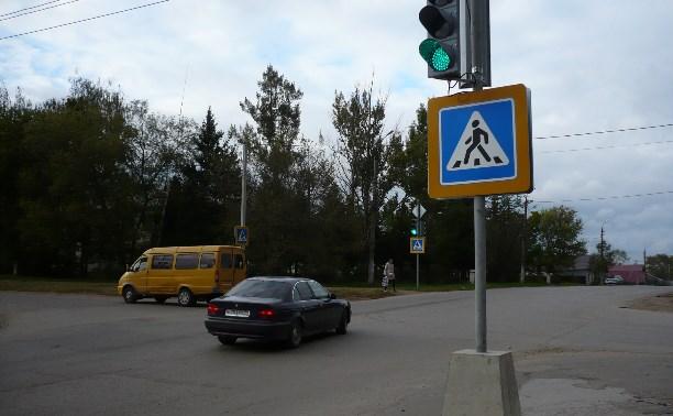 Активисты ОНФ добились установки светофора возле школы в Ефремове