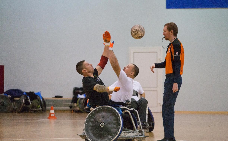 В Алексине проходит финал Чемпионата России по регби на колясках