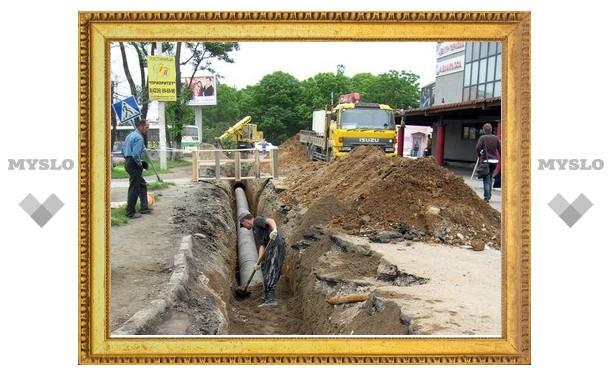 В Туле ветхая канализация заменена на 128%