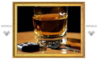 В Туле снизилось количество аварий по вине пьяных водителей