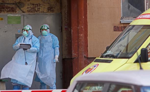 В Тульской области за сутки 105 случаев коронавируса