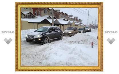 Тульские коммунальные службы готовятся к новым снегопадам