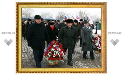 В Туле почтили память погибших воинов