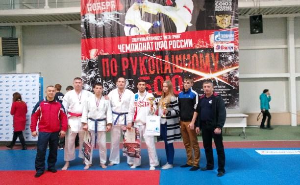 Тульские рукопашники завоевали семь медалей на Чемпионате ЦФО в Орле