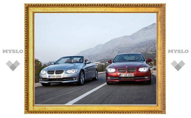 Компания BMW представила обновленные купе и кабриолет 3-Series