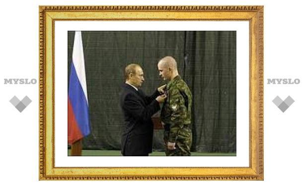 Путин сократил службу по призыву до одного года