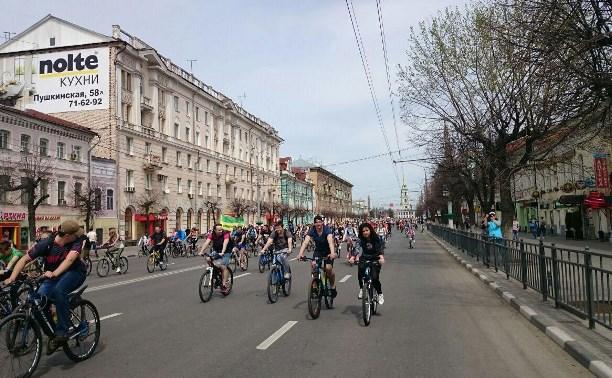 В Туле стартовал первомайский велопарад