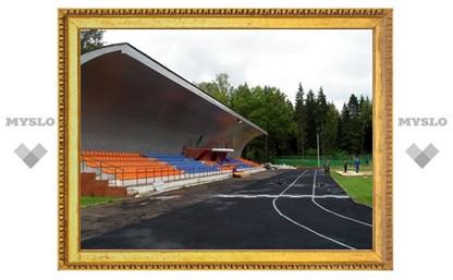 Скоро в Алексинском районе появится мини-стадион