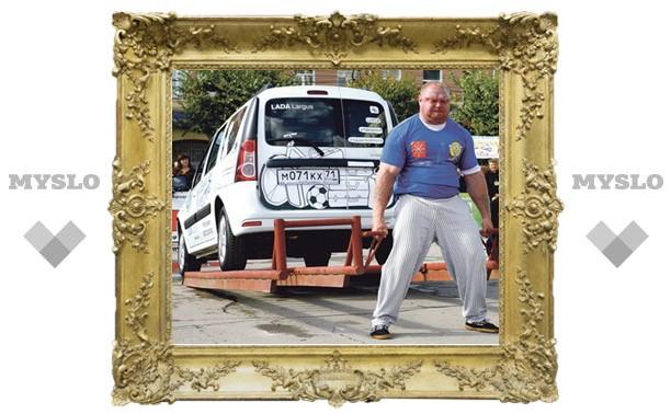 Сергей Шутов – самый сильный человек Тулы!