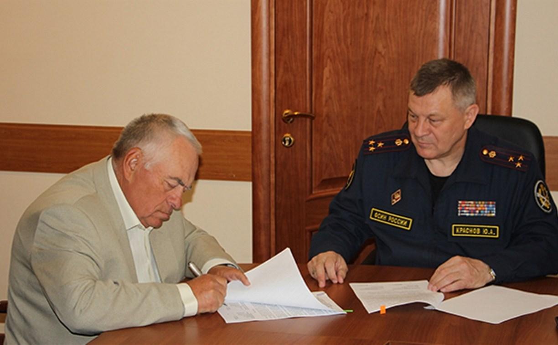 Тульское УФСИН будет сотрудничать с федерацией рукопашного боя