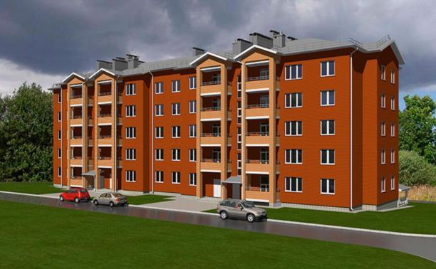 Новый жилой дом в Новомосковске от ООО «Стромсервис плюс»