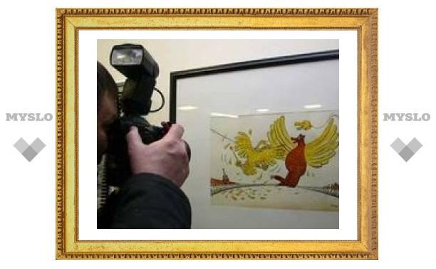 """В Петербурге открылась выставка карикатур """"Превед, Медвед"""""""