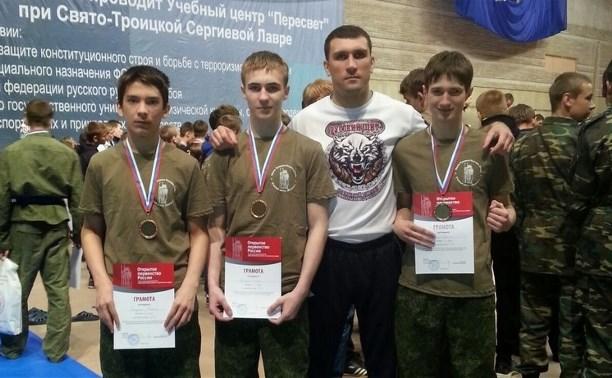 Тульские рукопашники отличились на первенстве России