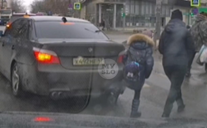 «Накажи автохама»: в Туле девочка-пешеход обиделась на водителя BMW