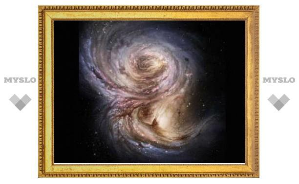 Астрономы нашли галактику-подростка