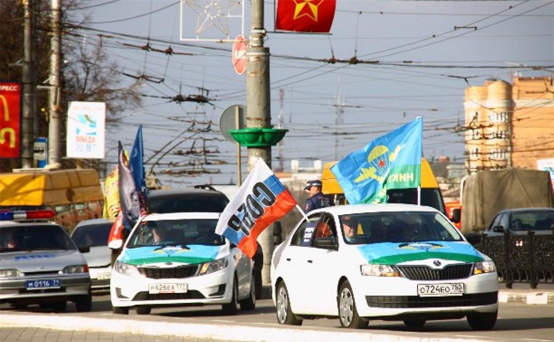 В Туле встретили автопробег героев «Перекличка поколений»