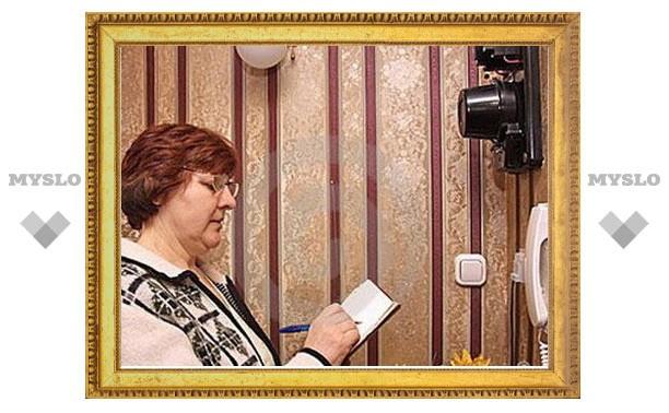 Туляки должны ежемесячно снимать показания со счетчика электроэнергии
