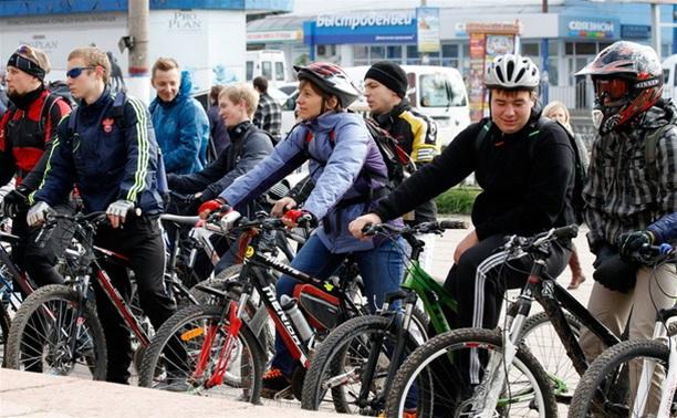 По центральным улицам Тулы прошел велопробег