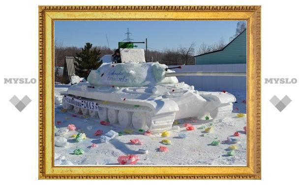 На танке из снега – в призеры World of Tanks