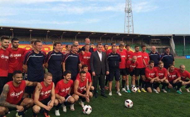 Алексей Дюмин – канонирам: «Начнем возрождение российского футбола с тульского «Арсенала»!»