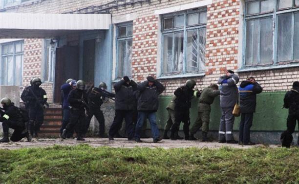 В Новомосковске прошли антитеррористические учения