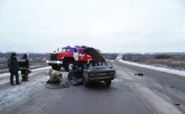 В ДТП на трассе Тула-Новомосковск погиб водитель