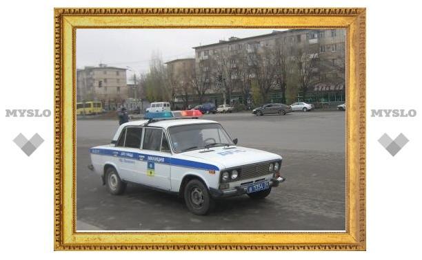За сутки на дорогах Тульской области произошло семь ДТП