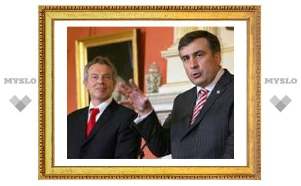 Саакашвили выразил соболезнования семье Ельцина