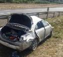 На трассе М4 «Дон» перевернулась «Тойота»: пострадали двое детей