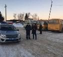 В Венёвском районе школьников перевозили на неисправных автобусах