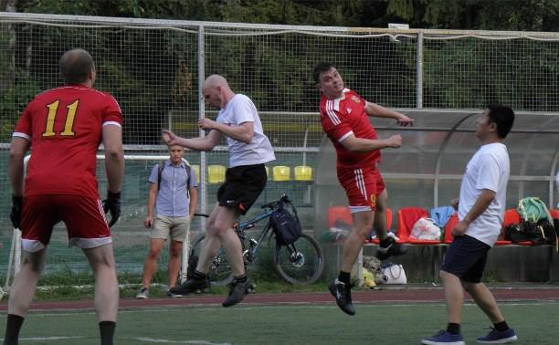 Корпорация развития Тульской области обыграла в футбол компанию Great Wall Motors
