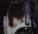 В Каменском сгорел «Камаз»