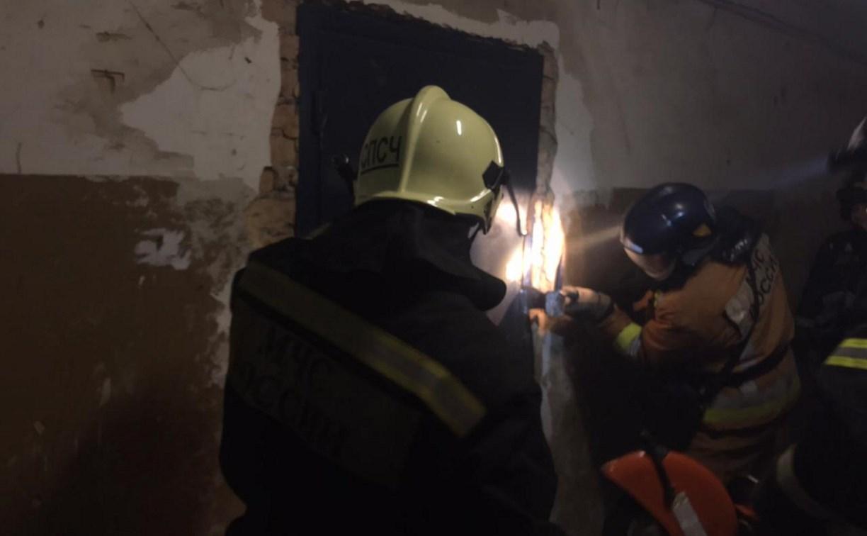 На пожаре в Туле погиб мужчина