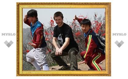 Туляки прошли стажировку у шаолиньских монахов-бойцов