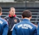 Футболисты «Арсенала» готовятся к выезду в Нижний Новгород