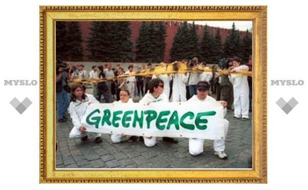 """На саммите ЕС задержаны активисты """"Гринпис"""""""