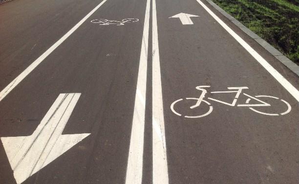 На автодорогах, проходящих через города и села, будут делать велодорожки