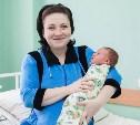 Первого ребёнка, родившегося в Тульской области в 2015 году, назвали Серёжей