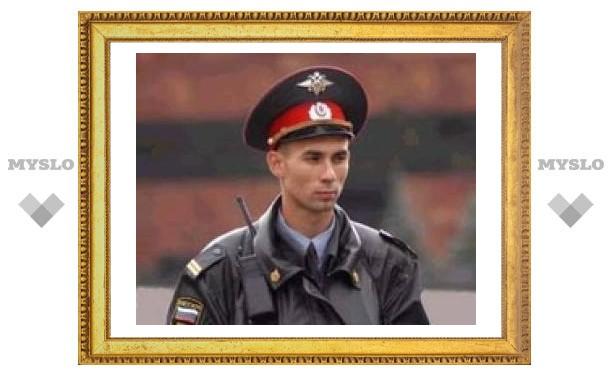 Тульские милиционеры отправились в Чечню