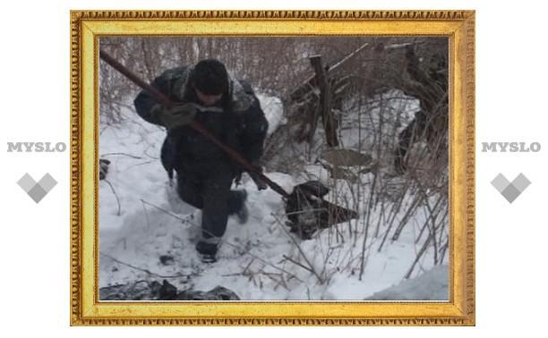 В Туле нашли расчлененный труп