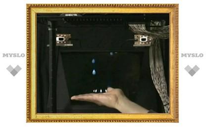 В Японии создали трехмерный сенсорный дисплей