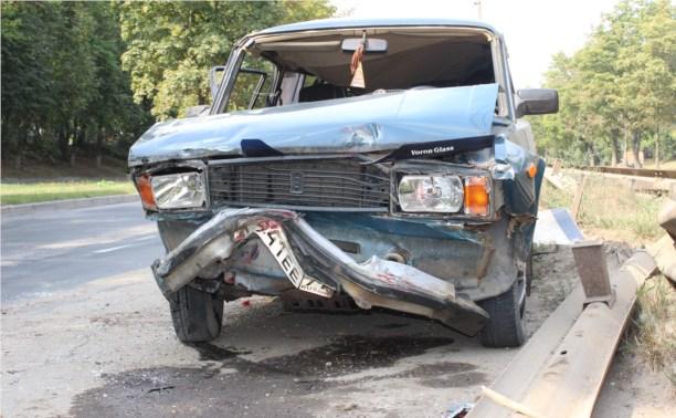 На Рязанке столкнулись две легковушки и грузовик