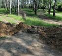 Зачем в Пролетарском парке Тулы нарыли «окопы»?