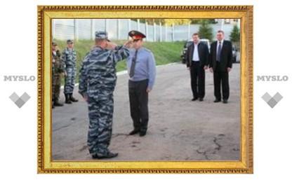 Тульский ОМОН уехал в Веденский район