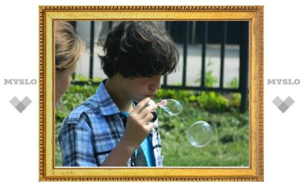 """В Туле прошел праздник мыльных пузырей """"DreamFlash"""""""