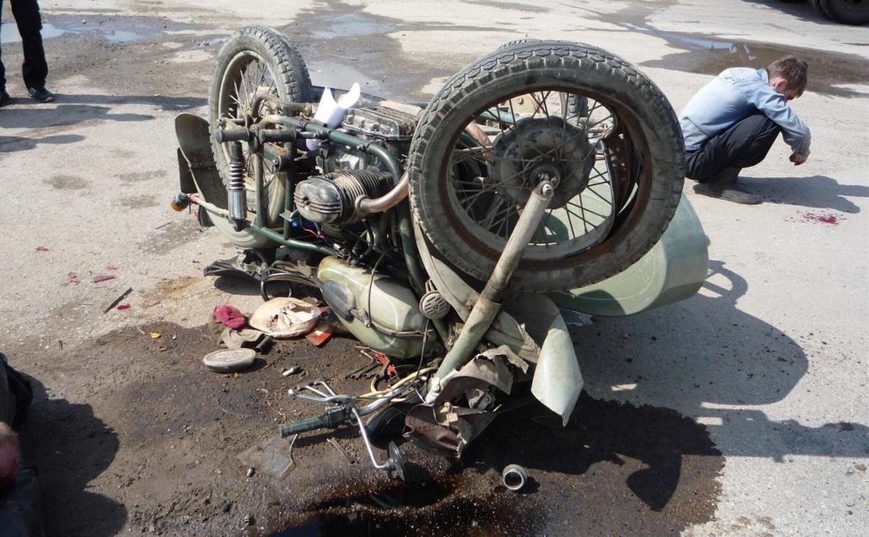 В Тульской области осудили виновника смертельного ДТП с мотоциклом
