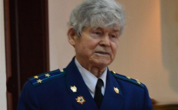 Скончался ветеран органов прокуратуры Тульской области Николай Пронин