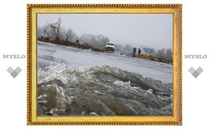 ГУ МЧС по Тульской области отчитывается о ситуации с паводком