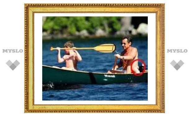 Французский журнал избавил Саркози от жира